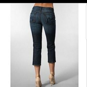 Citizens of Humanity Kelly cropped jeans size 25